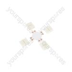 Professional LED Tape Connectors - 10mm single colour X - pack 5 - SC10-X