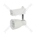 10W Compact COB LED Track Lights - White - 45° NW - TLE10W-45NW