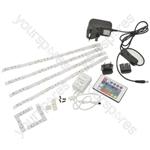 LED Tape Decor Kit 4 x 300mm - RGB