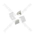 Aluminium LED Tape Profile - 90 Degree Arc - 1m - AL1-A1616