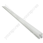 Aluminium LED Tape Profile - Batten - 2m - AL2-B2620