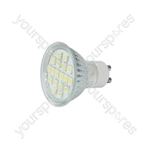 GU10 18 LED lamp - warm white (3000K)