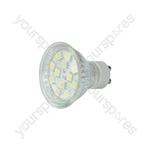 GU10 12 LED lamp - blue