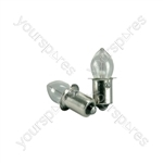 Krypton Torch Bulbs - LTB23 2xBulbs 5.4V 750mA