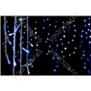 Icicle Lights with Controller 240 LED - LEDs string - Blue & White