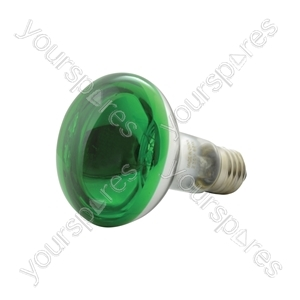 R80 Coloured Reflector Lamps - Lamp, R80, E27, Green