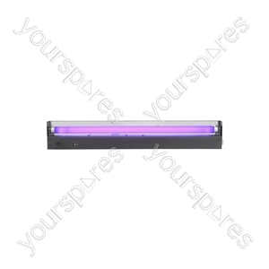 Black Light Tube Holders - (UK version) box, ultra violet, T8, 600mm, 20W - BL600