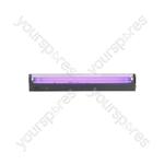 Black Light Tube Holders - (UK version) box, ultra violet, T8, 600mm, 20W - BL600