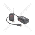 WR1 Wireless Remote Control for Fog/Haze Machines - Smoke/Haze