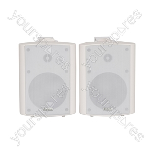 Amplified Stereo Speaker Set - - white - BC5A-W