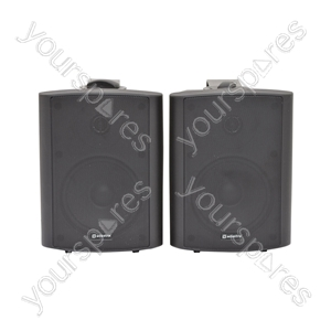 Amplified Stereo Speaker Set - - black - BC5A-B