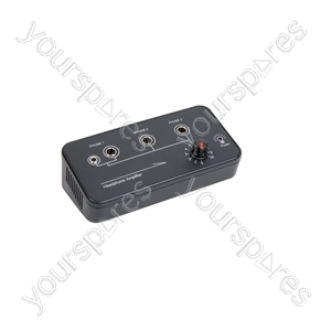 3-Channel Headphone Amplifier