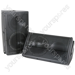 "CX-8088 speakers 8"" 100W pair - black"
