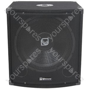 "QT Series Bass Boxes - QT15S 38cm (15"") - 300W"