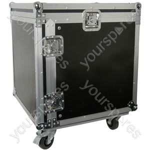 "19"" Equipment Racks with Wheels - 10U case - RACK:10X"