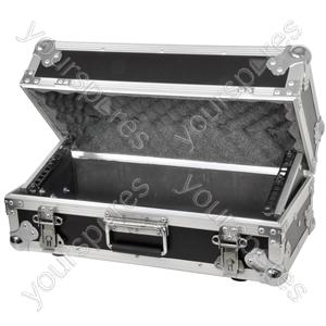 Tilt-up Rackcase for Media Player & Mixer - Tilting 4U mixer/media - CASE:T4U