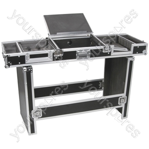 "Universal Coffin Case for 19"" 8U Mixer and 2 CD Players - CASE:UNI"