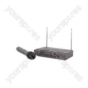 VH1 Handheld Microphone VHF Wireless System - - 173.8MHz