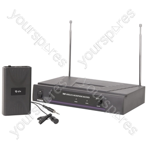 Lavalier Microphone VHF Wireless System - - 173.8MHz - VL1