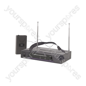 Neckband Microphone VHF Wireless System - - 173.8MHz - VN1