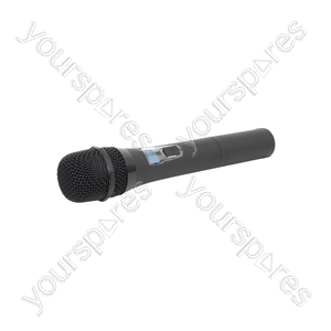 16 Channel UHF Handheld Microphone Transmitter - HTX-16