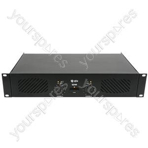 Q600 power amplifier 2 x 300W