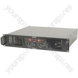 PLX2000 power amplifier, 2 x 700W @ 4 Ohms