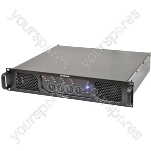 QP1600 quad power amp 4 x 400W