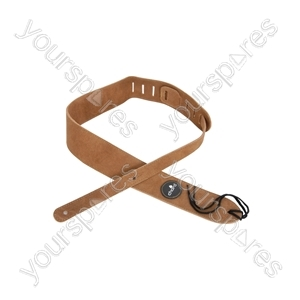 Leather Guitar Strap Natural
