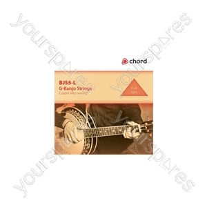 G-banjo Strings - set - BJS5-L