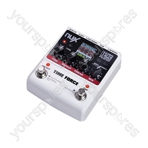 Nux Force Series Effect Pedals - Time delay + 40sec. looper