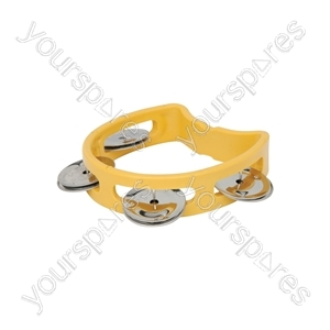 Mini D Tambourines - - yellow - MTM-YW