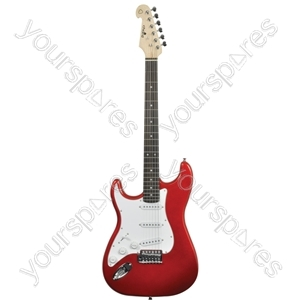 CAL63 Electric Guitars - CAL63/LH Metal Red - CAL63/LH-MRD