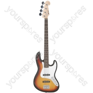 CAB42 Electric Bass Guitars - 3 Tone Sunburst - CAB42-3TS