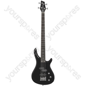 Electric Bass Guitars - CCB90 Black - CCB90-BK