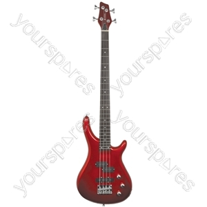 CCB90 Electric Bass Guitars - Metallic Red - CCB90-MRD