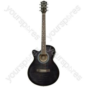 CMJ4Ce Electro-acoustic Guitars - CMJ4CE/LH Blk - CMJ4CE/LH-BK
