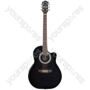 CMB4CE Bowlback Electro-acoustic Guitar - blackburst - CMB4CE-BK