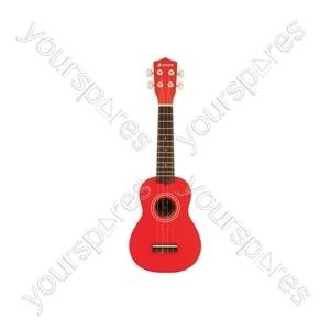 Ukulele - CU21-RD - red