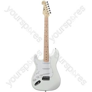 Electric Guitars - CAL63M/LH Arctic White - CAL63M/LH-ATW