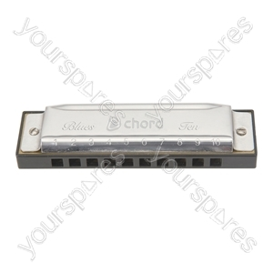 Blues Ten Harmonica E