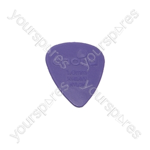 Bopp Bag 10 Nylon Grip Plectrums - 1.00mm 10pc - PIC-NH-10