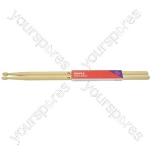 Maple sticks 2BW - pair