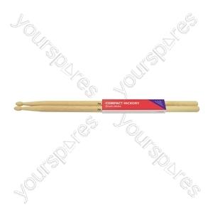 Compact hickory sticks 7AN - pair