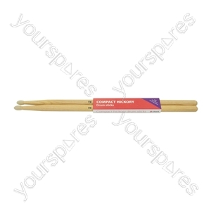 Compact Hickory Drum Sticks - 1 Pair - 7AN - H7ANC