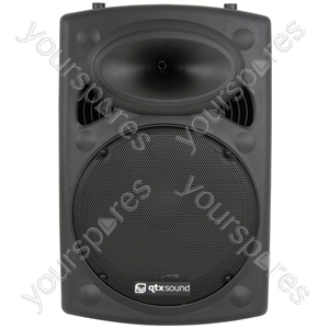 QR Series Passive Moulded PA Speaker Boxes - QR15 ABS 15in