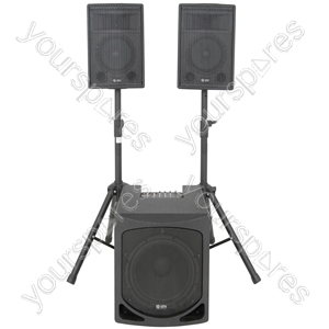 QL1510MA 2.1 active PA system
