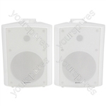 BC6A-W active stereo speaker set - white