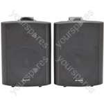 "6.5"" Active Stereo Speaker Set 2x50W - 6.5inch Black - BC6A-B"
