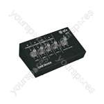 Mini Line Level Mixers - 4 Mono Channel & Instrument - LM41